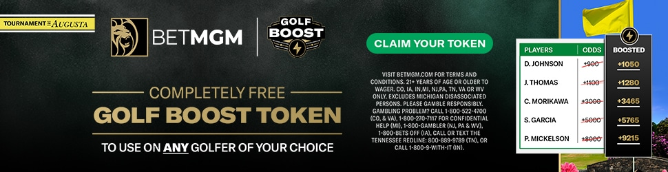 BetMGM Masters Boosted Odds Promo