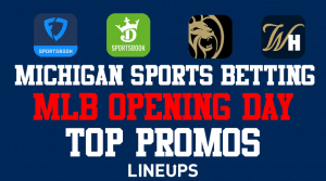 Get Over $2,500 of Michigan Sports Betting Promotions for MLB Opening Day