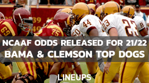 College Football 21/22 Odds Released, Alabama Favorited Again