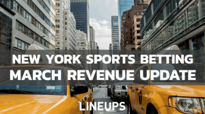 New York March Sports Betting Revenue Sees Small Boost