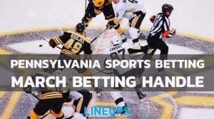 Pennsylvania Sports Betting Sees Increase in March to $560.3M Wagered