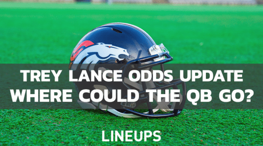 Trey Lance NFL Draft Odds: Where Could The Quarterback Land?
