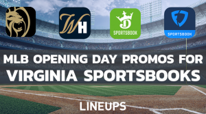 Virginia Sportsbooks Offering Big Promos For Opening Day