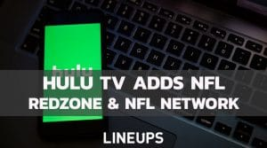 Hulu Live to Offer NFL RedZone and NFL Network