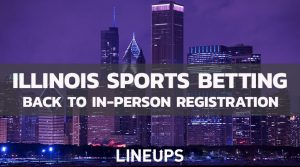 Illinois Goes Back to In-Person Registration