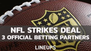 NFL Inks Sports Betting Deal With FanDuel, DraftKings, and Caesars