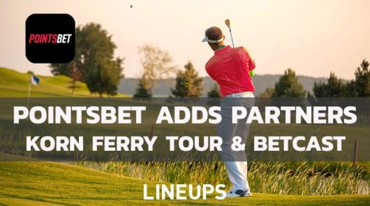 PointsBet Partners With Korn Ferry Tour & Unveils BetCast With NBC
