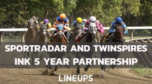Sportradar and Twinspires Team up for 5 Year Sports Betting Deal