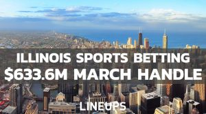 Illinois Sports Betting Breaks Record With $633M Wagered in March