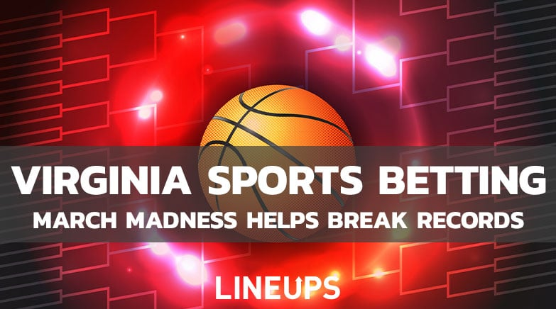 Virginia Sports Betting march handle