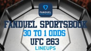 FanDuel Sportsbook: Get 30 to 1 on Adesanya or Vettori for UFC 263