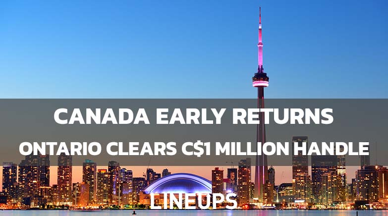 Canada sports betting early returns