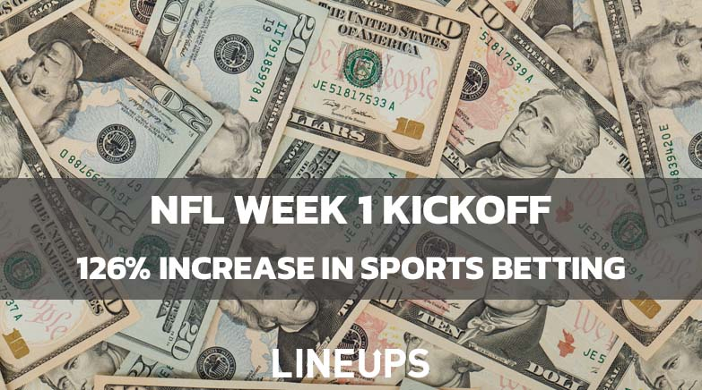 NFL Kickoff Record Sports Betting Numbers