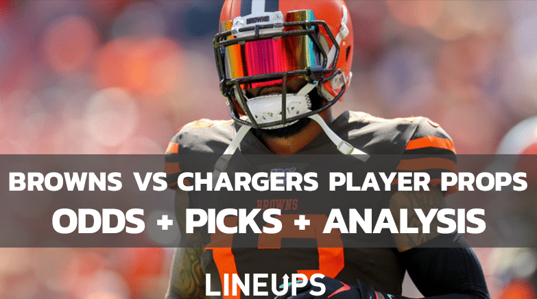 Browns Vs Chargers Player Props