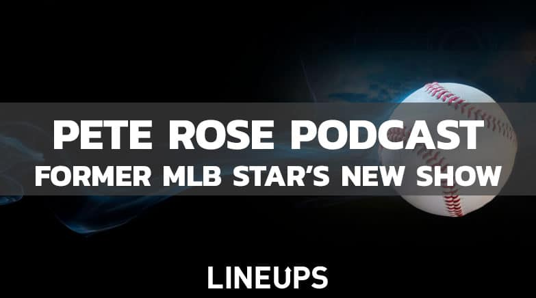 Pete Rose Launching Sports Betting Podcast