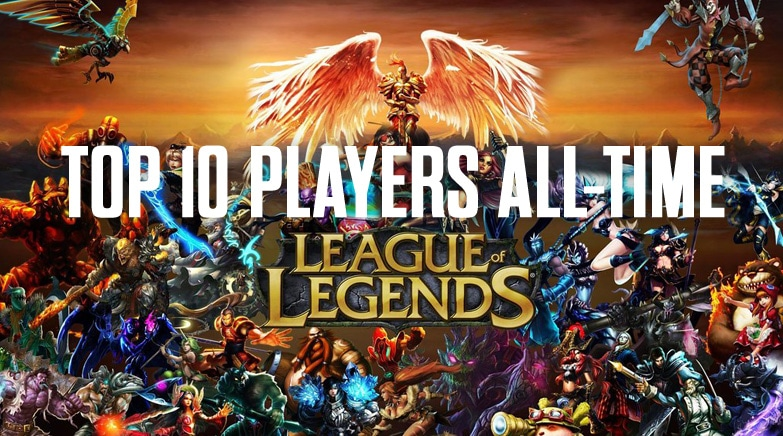 Top 10 League Of Legends Lol Players Of All Time