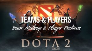 Dota 2 Teams & Players: Team Makeup & Roster Positions
