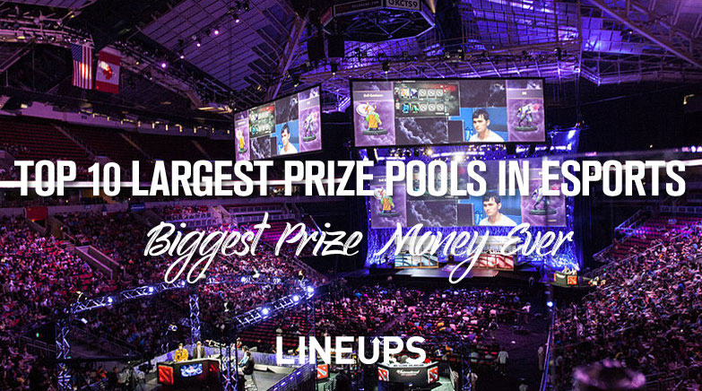 top 10 largest prize pools in esports ever