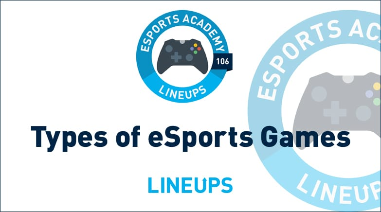 types of esports games