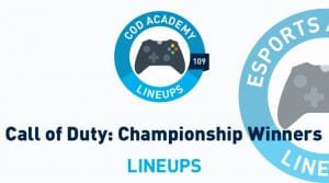 Call of Duty Championship Winners