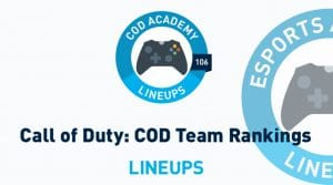 Call of Duty League Rankings: Ranking the Top Teams