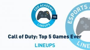 Top 5 Call of Duty Games of All-Time