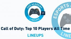 Top 10 Call of Duty Players of All-Time