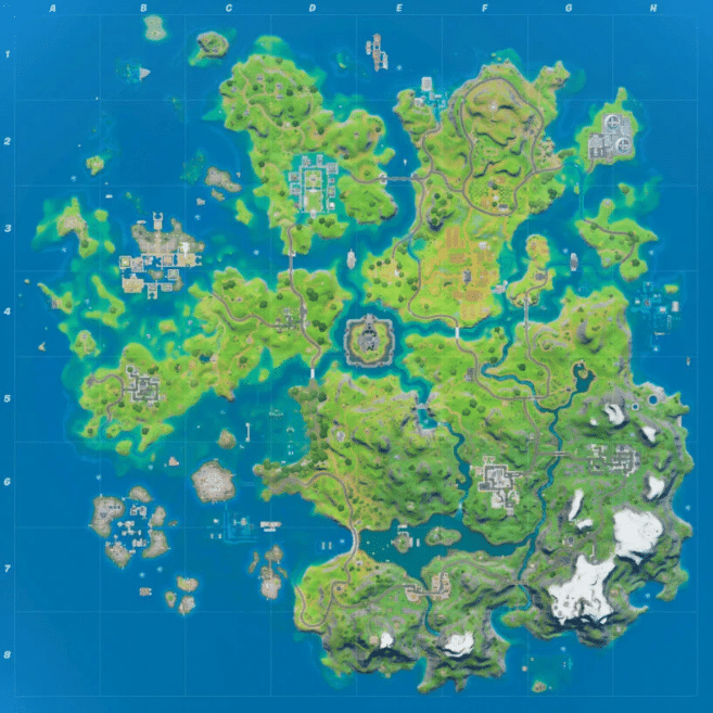 Chapter 2 Season 3 Map