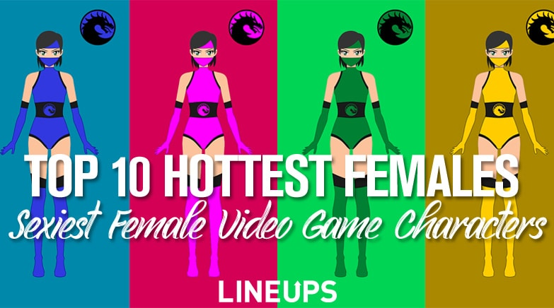 top 10 hottest female video game females