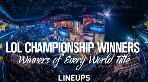 League of Legends World Championship Winners